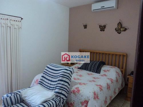 Imagem 1 de 24 de Sobrado Com 4 Dormitórios À Venda, 338 M² Por R$ 692.000,00 - Jardim Santa Maria - Jacareí/sp - So0695