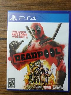 Deadpool Playstation 4 Ps4 Nuevo Y Sellado !!