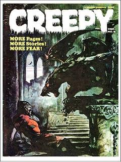Pôster Cinema Filme Terror Horror Artes Revista Creepy # 06