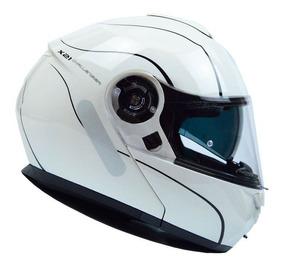 Capacete Givi X21 Graphic Branco/preto Rs1