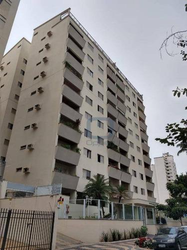 Imagem 1 de 30 de Apartamento Com 3 Dormitórios, 161 M² - Venda Por R$ 690.000,00 Ou Aluguel Por R$ 2.500,00/mês - Vila Itapura - Campinas/sp - Ap1031