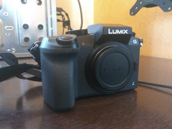 Câmera Panasonic Lumix G7 Dmc-g7 - 3 Baterias