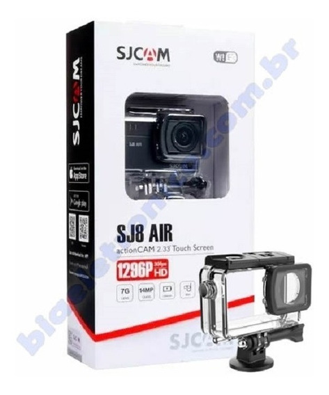 Câmera Esportiva Sjcam Sj8 Air Wifi Original Full Set