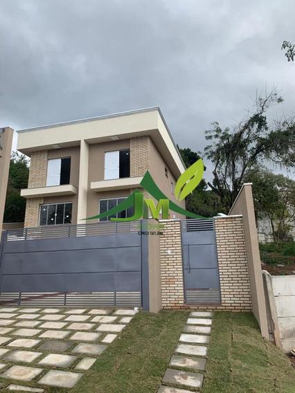 Linda Casa Nova Em Atibaia No Maristela 375mil - 1113