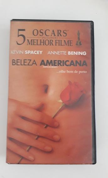 Filme Fita Vhs- Beleza Americana- Legendado- Ano 1999