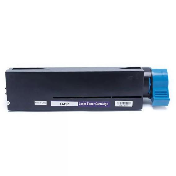 Toner Compatível Com Okidata B431 Mb491 B431dn B411