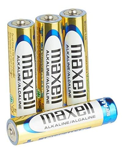 Imagen 1 de 4 de Maxell 723841 Bateria Aaa 4 Pk