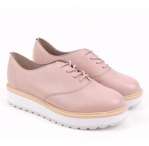 Sapato Feminino Beira Rio Tratorado 4214104 Oxford Sapatenis