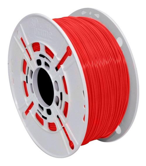 Filamento 3d Prime Pla Vermelho 1,75mm 500g