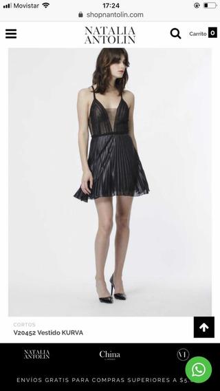 Vestido Natalia Antolín Negro Talle S