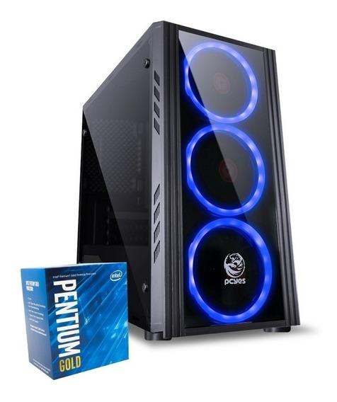Pc 8ª Geração Pentium G5400 H310m-h 8gb Ddr4 Ssd 120gb 400w