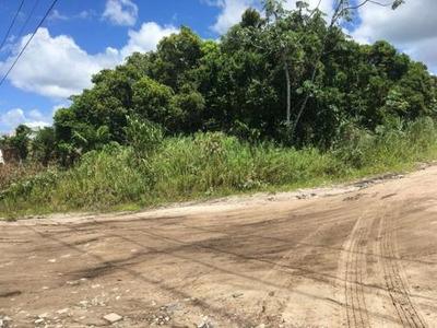 Terreno De Esquina No Bopiranga, Em Itanhaém, 250m² Ref 3799