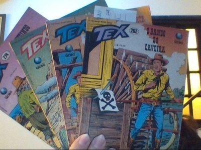 Revista Tex 262, 268, 269 E 274 Vários