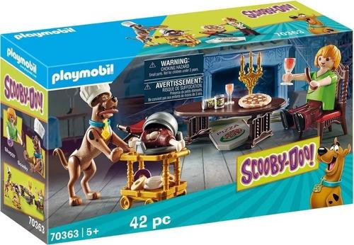 Playmobil 70363 Scooby Doo! Cena Con Shaggy Edu