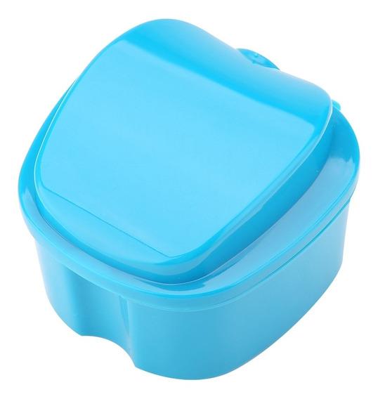Caja De Dientes Postizos Para Baño, Dispositivo De Almacena