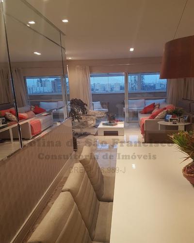 Cobertura Penthouse De 202m²  3 Dormitórios - Osasco - Ap14604 - 69215473