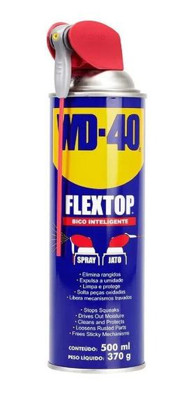 Oleo Lubrificante Multiusos Wd-40 Flextop 500ml