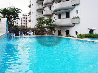 Amplo Apartamento Residencial Para Locação, Vila Andrade, São Paulo. - Ap2836