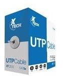Imagen 1 de 3 de Carrucha Xtech Cable Utp  305 M Cat 5e - Gris