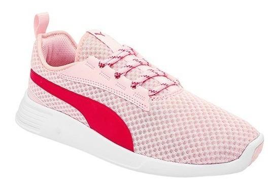 Tenis Puma St Trainer Evo V2 Jr Pink Tallas #22½ Al #25 Mujer