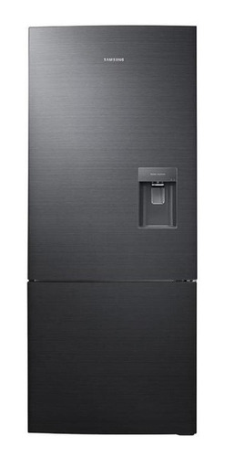 Imagen 1 de 4 de Refrigerador inverter no frost Samsung RL4034SBA acero inoxidable negro con freezer 400L 110V