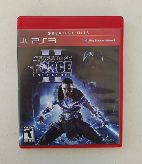 Jogo Star Wars Ps3 - The Force Unleashed - Midia Fisica
