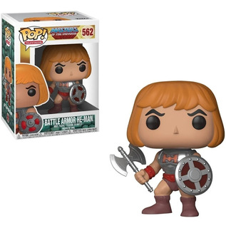 Funko Pop! Masters Of The Universe Battle Armor He-man #562