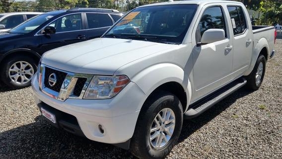 Nissan Frontier Sv 4x4 Blanca 2014