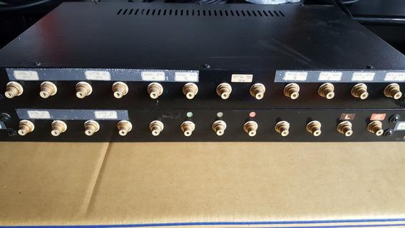 2 Patcheras Rca Rack Metalico 12 Conectores Con Uso