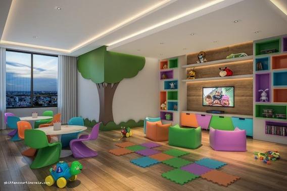 Apartamento Para Venda Em Ponta Grossa, Centro, 2 Dormitórios, 1 Suíte, 2 Banheiros, 1 Vaga - 084