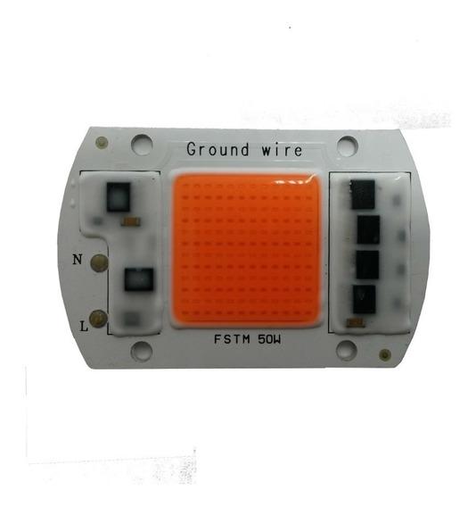Led Cob 50w Full Spectrum Com Driver Integrado 220v