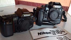Camera Nikon Analogica F4s E F 801s Raridade
