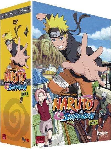 Dvd Naruto Shippuden - Box 1 - 5 Discos