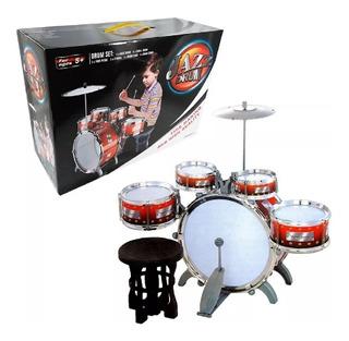 Batería Musical Infantil Juguete Jazz Drum Niño