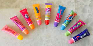 Flavored Lip Gloss Popular Candy Original (pack De 9u)