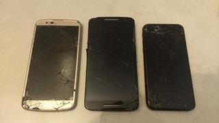 Refacciones Lg Q10 - Moto X Play - iPhone 7