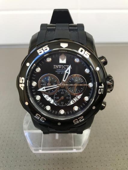 Relógio Invicta 6986 Pro Diver Scuba Preto Seminovo Original