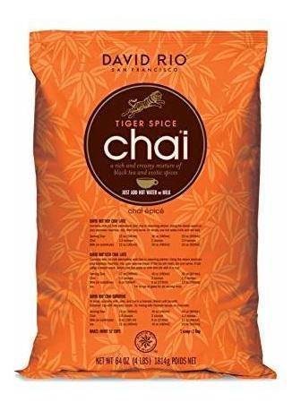 David Rio Tiger Spice Chai, 4 Libras