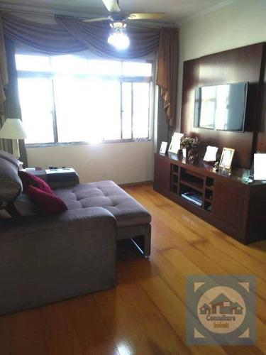 Apartamento À Venda, 84 M² Por R$ 399.000,00 - Marapé - Santos/sp - Ap5474