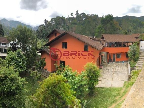 Belíssima Casa Com 7 Quartos Sendo 3 Suítes No Bairro Mury Em Nova Friburgo - Ca01262 - 34692999