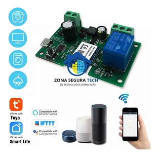 Modulo Control Relé Wifi Smart Domótica Automatización Smart