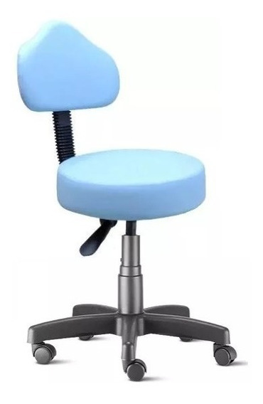 Cadeira Mocho Azul Dentista, Tatuador, Esteticista Campinas