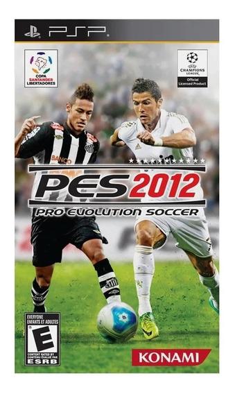 Jogo Lacrado Pro Evolution Soccer 2012 Pes 12 Para Psp