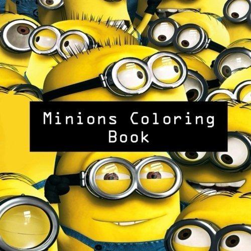 Libro De Colorear De Minions Para Ninos Dibujos Animados