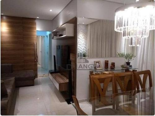 Imagem 1 de 17 de Apartamento À Venda, 92 M² Por R$ 550.000,00 - Residencial Espanha - Paulínia/sp - Ap17432