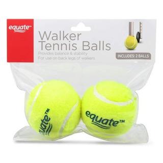 Pelotas De Tenis Para Andadera 1 Par Equate