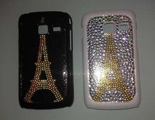 Capa Case Galaxy Y Duos S6102 Onça Fashion Paris