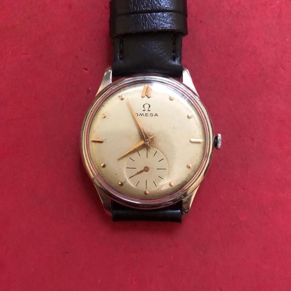 Antigo Relógio De Pulso Omega Masculino, Super Conservado