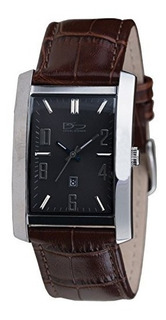 Reloj Daniel Steiger Richmond Steel Brown Caja Rectangular C
