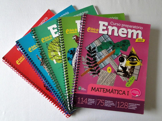 Curso Preparatório - Enem 2012 - Kit Com 5 Volumes